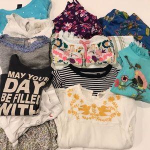 12 Piece Girls Summer Lot